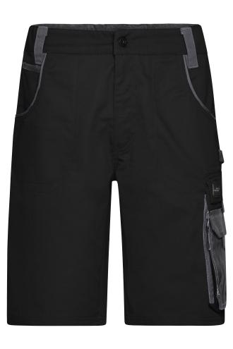 Workwear Bermudas - STRONG - black/carbon