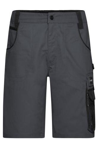Workwear Bermudas - STRONG - carbon/black