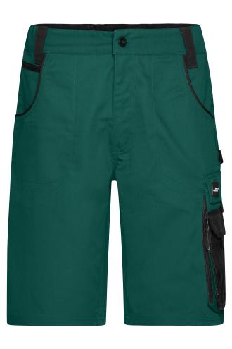 Workwear Bermudas - STRONG - dark-green/black