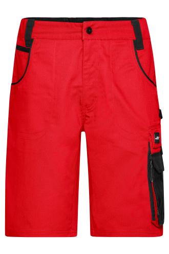 Workwear Bermudas - STRONG - red/black