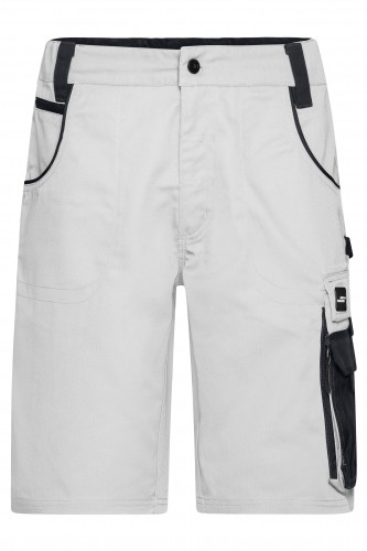 Workwear Bermudas - STRONG - white/carbon