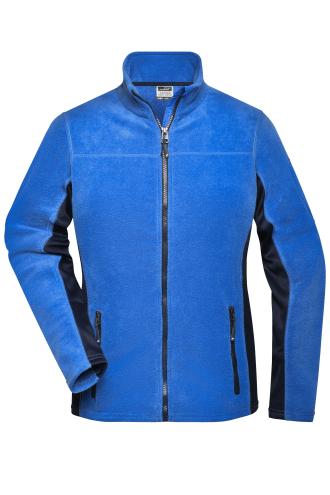 Ladies Workwear Fleece Jacket - STRONG - royal/navy
