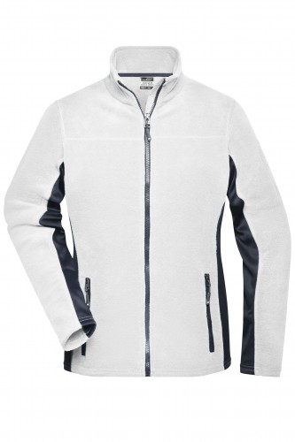 Ladies Workwear Fleece Jacket - STRONG - white/carbon