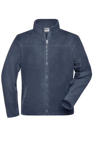 Mens Workwear Fleece Jacket - STRONG - navy/navy