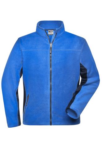 Mens Workwear Fleece Jacket - STRONG - royal/navy