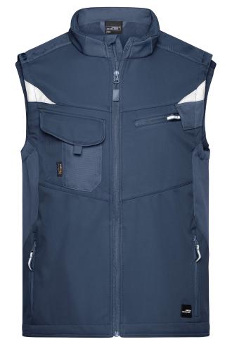 Workwear Softshell Vest - STRONG - navy/navy
