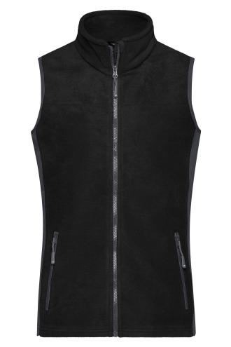 Ladies Workwear Fleece Vest - STRONG - black/carbon