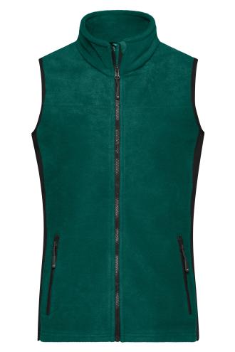 Ladies Workwear Fleece Vest - STRONG - dark-green/black