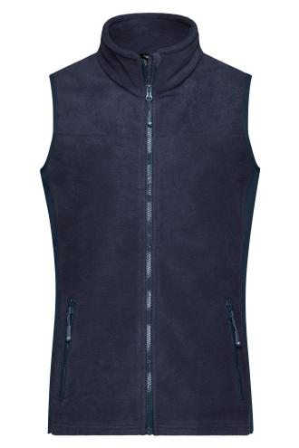 Ladies Workwear Fleece Vest - STRONG - navy/navy