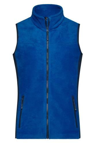 Ladies Workwear Fleece Vest - STRONG - royal/navy