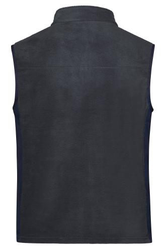 Mens Workwear Fleece Vest - STRONG - carbon/black