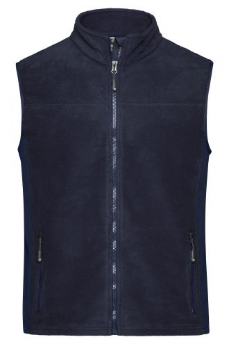 Mens Workwear Fleece Vest - STRONG - navy/navy