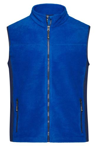 Mens Workwear Fleece Vest - STRONG - royal/navy