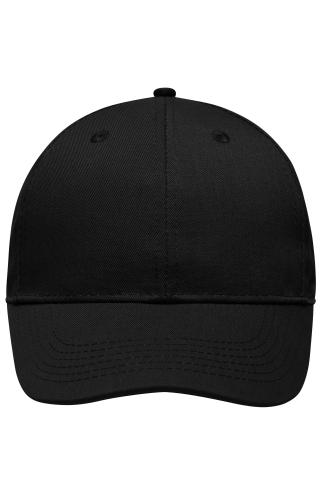 6 Panel Workwear Cap - STRONG - black