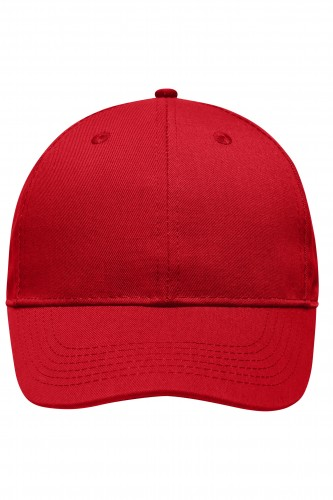 6 Panel Workwear Cap - STRONG - red
