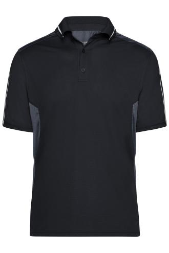 Craftsmen Poloshirt - STRONG - black/carbon