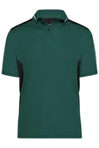 Craftsmen Poloshirt - STRONG - dark-green/black