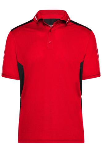 Craftsmen Poloshirt - STRONG - red/black