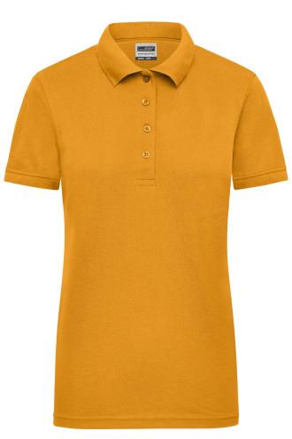 Ladies Workwear Polo - gold-yellow