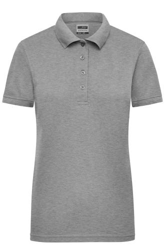 Ladies Workwear Polo - grey-heather