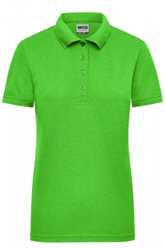 Ladies Workwear Polo - lime-green