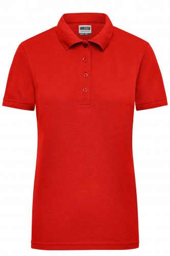 Ladies Workwear Polo - red
