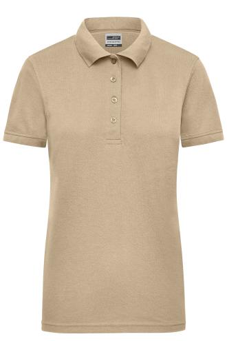 Ladies Workwear Polo - stone