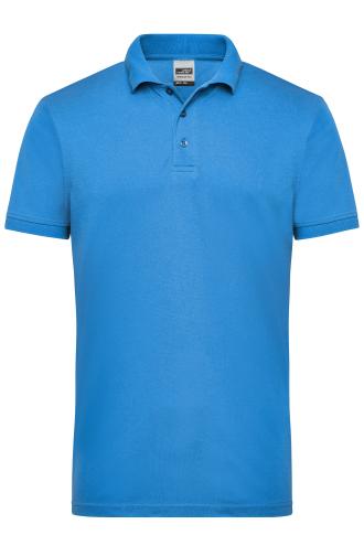 Mens Workwear Polo - aqua