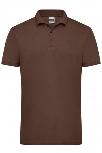 Mens Workwear Polo - brown
