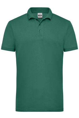 Mens Workwear Polo - dark-green