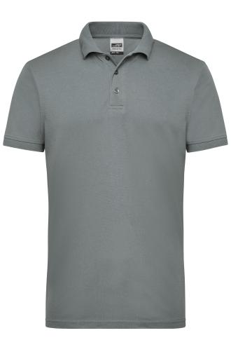 Mens Workwear Polo - dark-grey