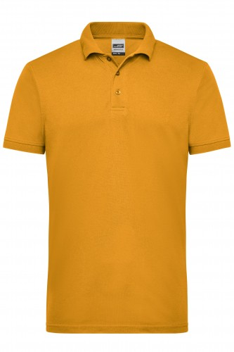 Mens Workwear Polo - gold-yellow