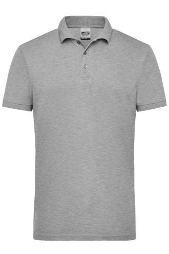 Mens Workwear Polo - grey-heather