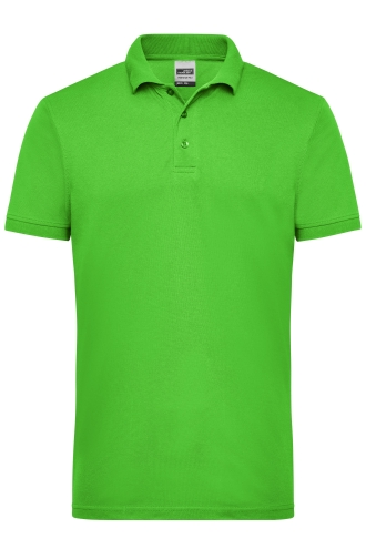 Mens Workwear Polo - lime-green
