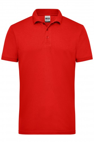 Mens Workwear Polo - red