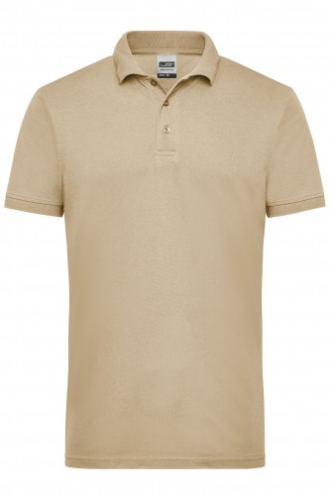 Mens Workwear Polo - stone