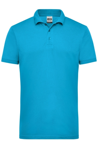 Mens Workwear Polo - turquoise
