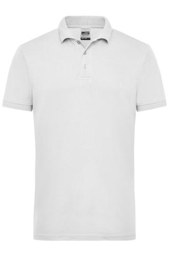 Mens Workwear Polo - white