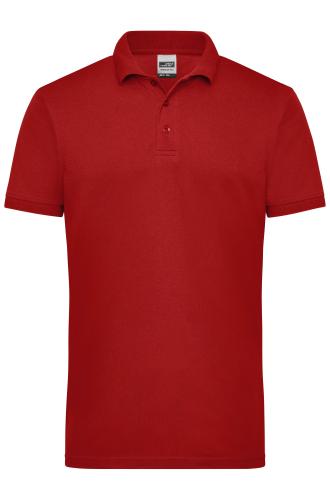 Mens Workwear Polo - wine