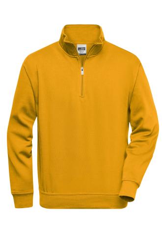 Workwear Half Zip Sweat - gold-yellow