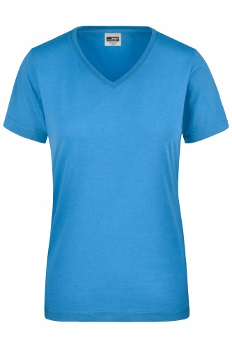 Ladies Workwear T-Shirt - aqua