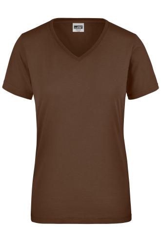 Ladies Workwear T-Shirt - brown