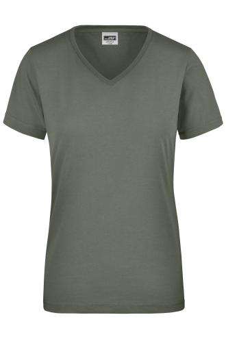 Ladies Workwear T-Shirt - dark-grey