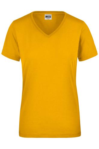 Ladies Workwear T-Shirt - gold-yellow