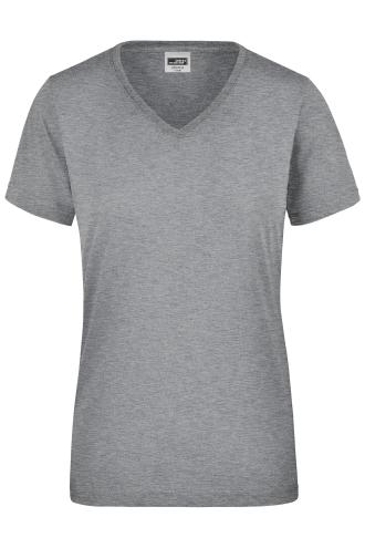 Ladies Workwear T-Shirt - grey-heather