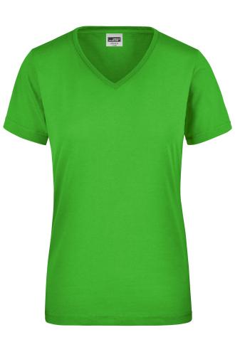 Ladies Workwear T-Shirt - lime-green