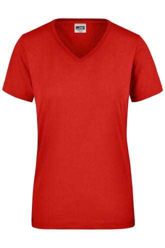 Ladies Workwear T-Shirt - red