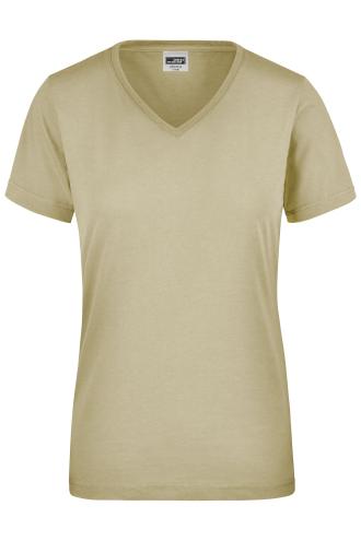 Ladies Workwear T-Shirt - stone