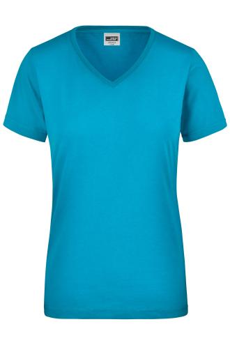 Ladies Workwear T-Shirt - turquoise