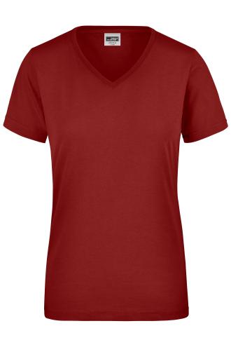 Ladies Workwear T-Shirt - wine